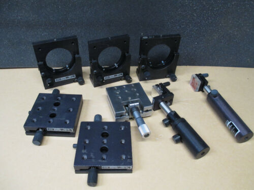 Newport (NRC) Bundle, TSX-1A, GM-2,  Linear stage with caliper