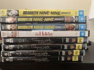 TV Seasons & Movie DVDs
