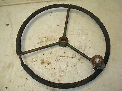 1953 John Deere 60 Tractor Steering Wheel