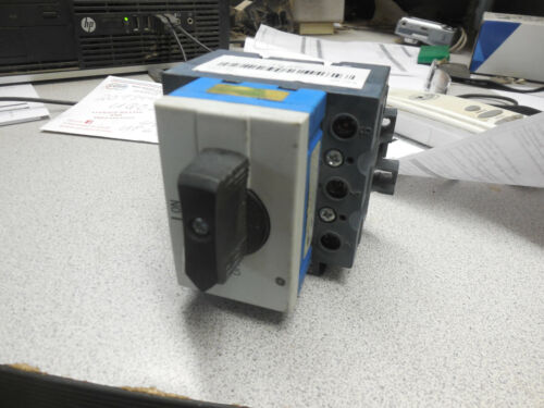 General Electric ML3-125 Manual Motor Controller Good Working Condition