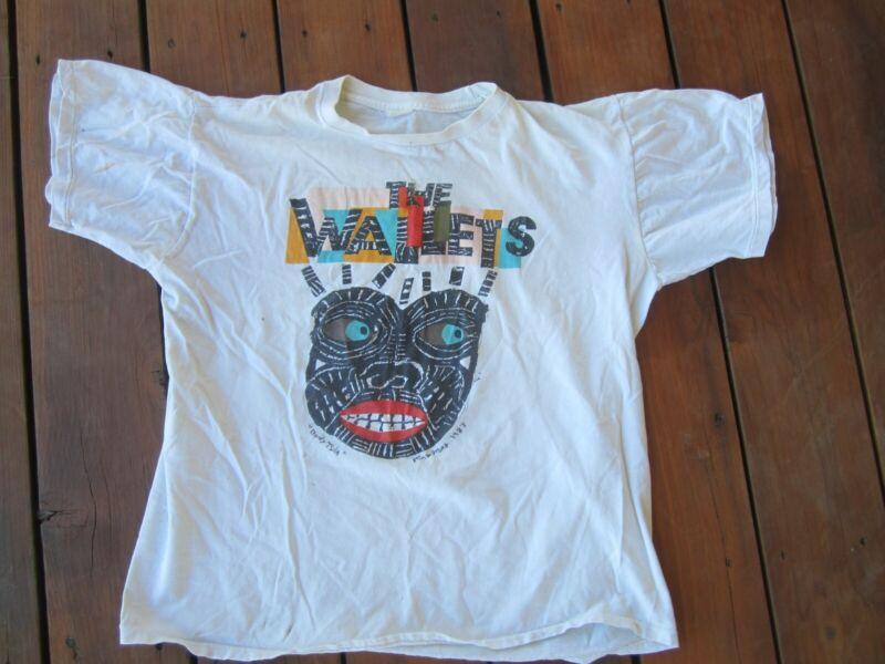 VINTAGE RARE 1987 THE WALLETS BODY TALK T-SHIRT MINNEAPOLIS BAND MEDIUM