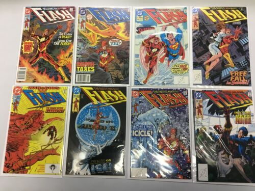 Flash lot from:#50-99 DC 2nd series 32 different books 6.0 FN (1991-95)