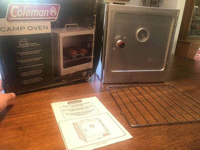 Coleman Fold Away Camp Oven Propane Folding Campstoves 5010B700 Cooking Steel