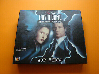 The X Files - Trivia Game