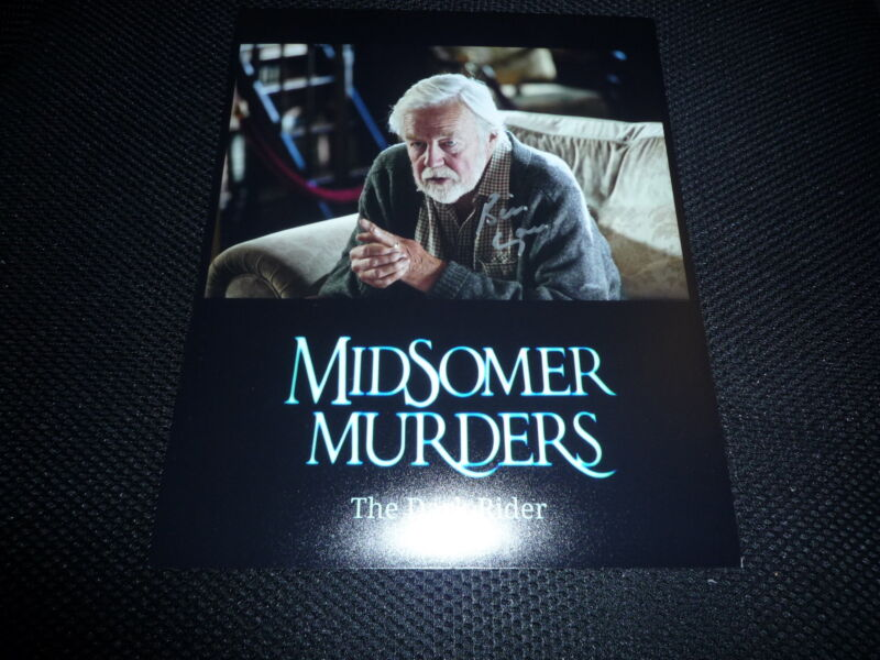 WILLIAM GAUNT signed autograph In Person 8x10 (20x25cm) MIDSOMER MURDERS