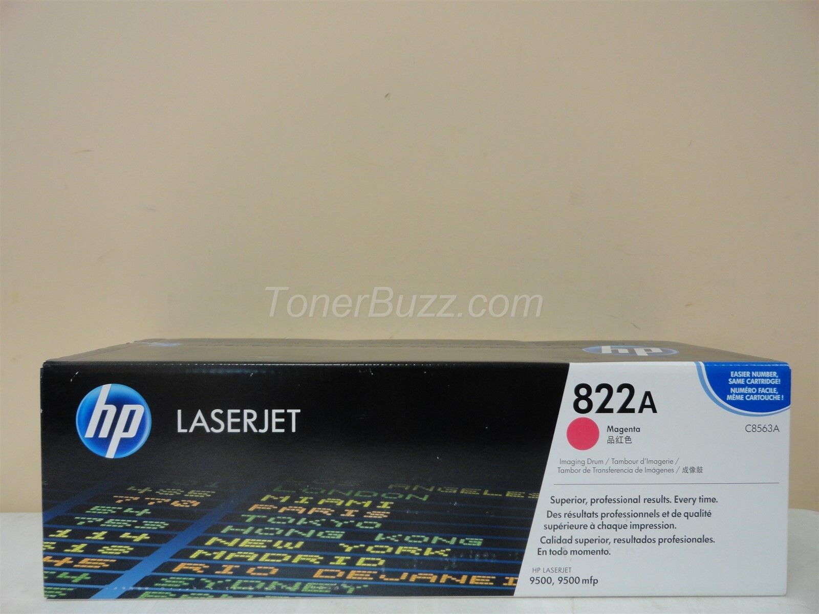 NEW SEALED BOX Genuine HP Color LaserJet C8563A Magenta Toner Imaging Drum