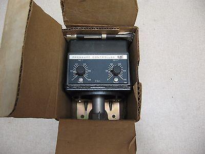 NEW - UE UNITED ELECTRIC 376 TYPE H302 0-500 PSI PRESSURE 125/250V-AC CONTROLLER