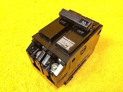 Perfect Ge Thql2120 20 Amp 2-pole Plug In Breaker