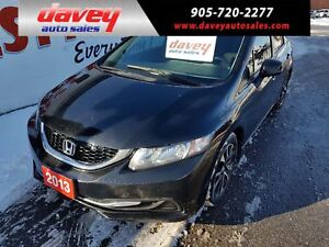 2013 Honda Civic EX BACK UP CAMERA, BLUETOOTH, ALLOY WHEELS