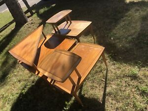 Vintage deilcraft corner and end tables