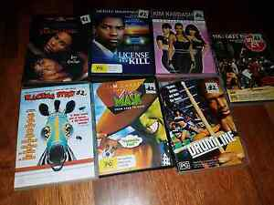7 dvd bulk lot movies Pacific Pines Gold Coast City Preview