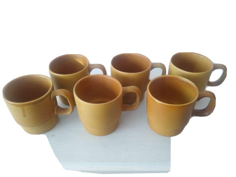 Bennington Pottery Stackable Mugs