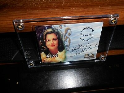 BUFFY THE VAMPIRE AUTOGRAPH CARD A14 KRISTINE SUTHERLAND AS JOYCE NEW FREE SHIP!