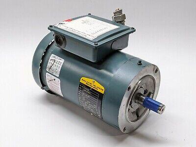 Baldor Vuhm3558t Electric Motor 2hp 1750rpm 230460v 3.1a 3ph 78 Shaft