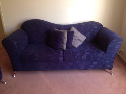 2 x fabric couches in a great condition  Ryde Ryde Area Preview