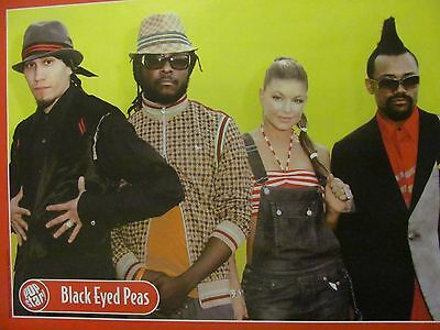 Black Eyed Peas, Full Page Pinup
