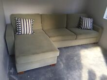 Freedom 3 seater sofa with chaise Warradarge Coorow Area Preview