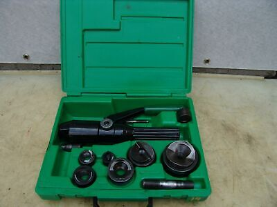Greenlee 7804sb Quick Draw Hydraulic Punch Driver 12 To 2 Inch Works Fine 14