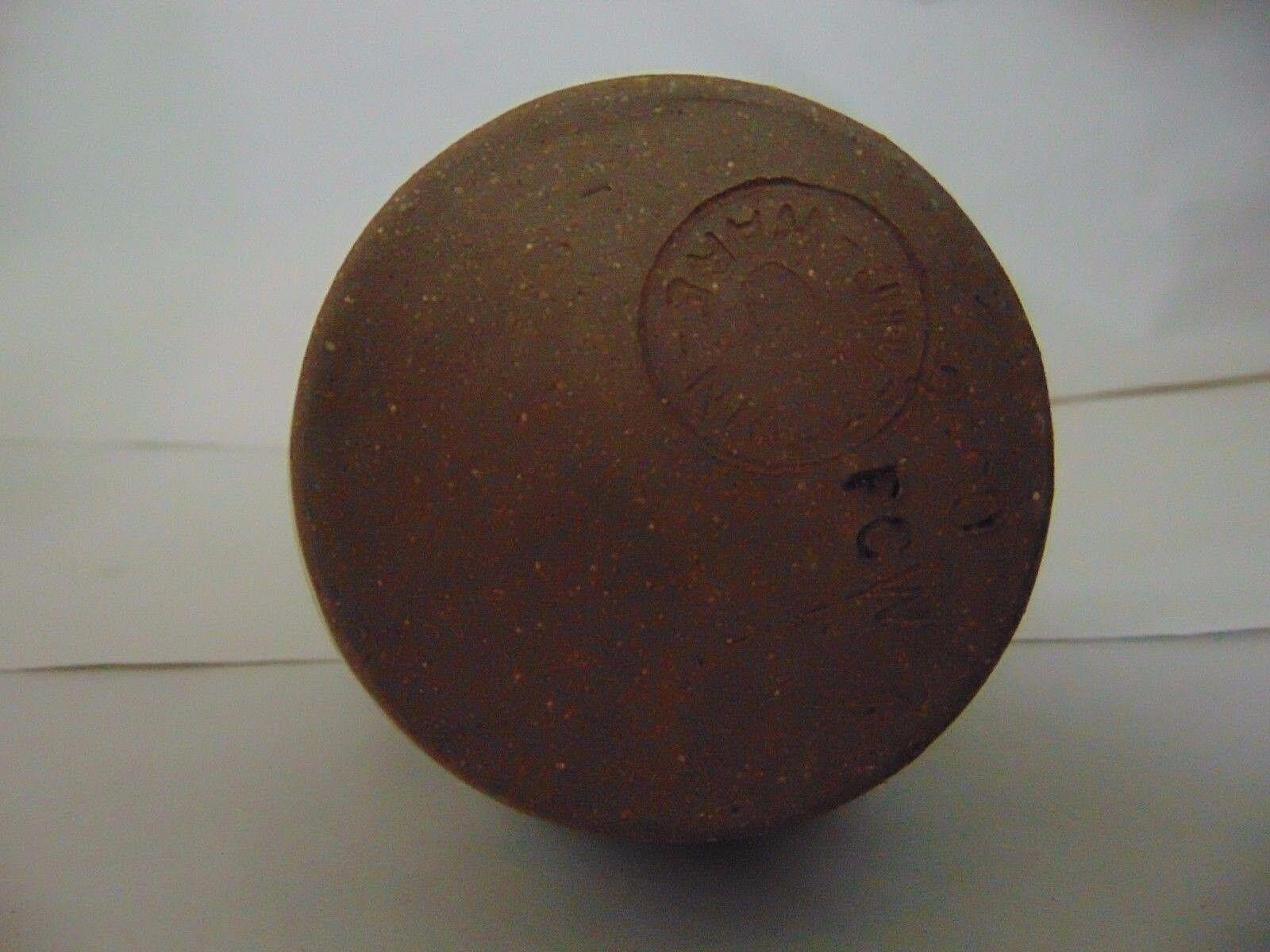 DON CRAIG JUGTOWN WARE SOUTHERN PRIMITIVE FOLK ART MINI PITCHER SHJ - $39.95
