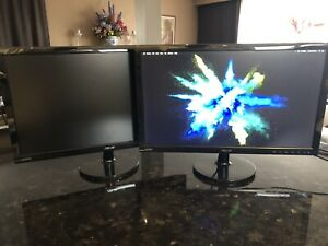 "Asus 23"" Monitors 1080p 2ms response time"