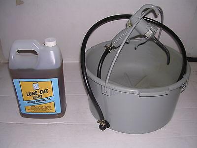 Bucket Oiler Light Threading Oil For Ridgid 300 700 141 161 Pipe Threader 811