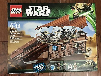 LEGO - 75020 - Star Wars - Jabba's Sail Barge - New Sealed Box
