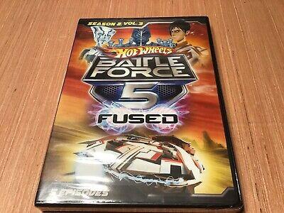 Hot Wheels: Battle Force 5 - Season 2, Vol. 3 (DVD, 2014)