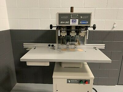 Challenge Eh-3c Hydraulic Paper Drill - Professionally Serviced Tested