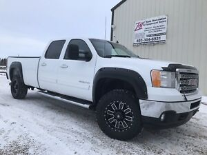 2012 GMC 3500 SLT Diesel! Long box! Leather! $0 Down Financing!!