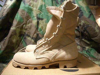 NEU US Army original ALTAMA Desert Combat Boots 4R DCU ACU KampfStiefel, Danner