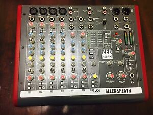 Allen & Heath ZED 10 FX Mixer