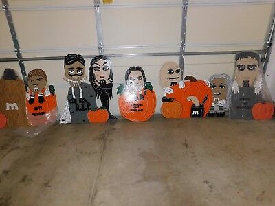 The Addams Family Halloween Yard Decoration