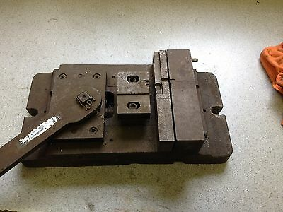 Quick Release Milling Machine Drill Press Cam Lever Vise 6 Wide 1.5 Opening
