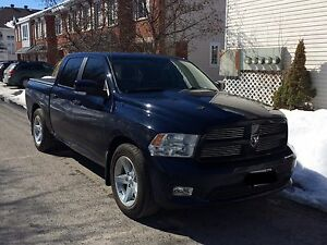 Blue 2012 RAM 1500 Crew Sport Pickup Truck w/ Factory Warranty