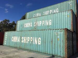 40ft High Cube Sea Shipping Containers Maddington Gosnells Area Preview