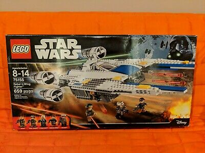 LEGO Star Wars (75155) Rebel U-Wing Fighter - New in Sealed Box!