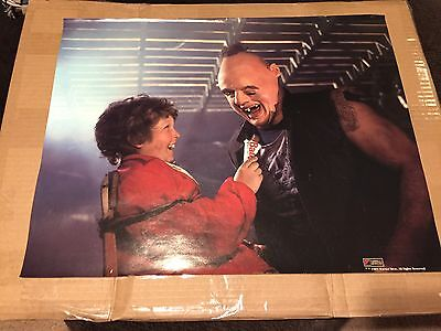 THE GOONIES ORIGINAL SLOTH & CHUNK PROMO MOVIE POSTER Baby Ruth Jeff Cohen - Goonies Chunk