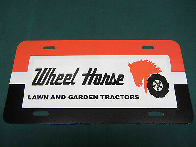Wheel Horse Lg Logo License Plate