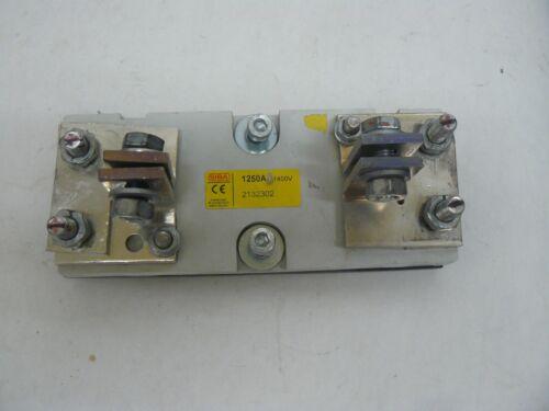 Siba 2132302 fuse base 1250 amp 1400 volt new