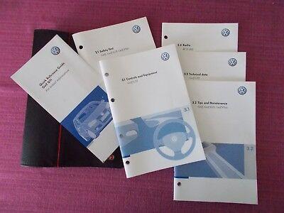 VOLKSWAGEN GOLF GTi (2004 - 2009) USER MANUAL - HANDBOOK & GTi WALLET (ACQ 4931)