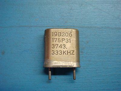 1 Ge 19b206175p31 3743.333khz Vhf Lo-band Crystal Oscillator Vintage Audio