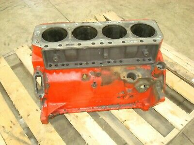 Ford Tractor Gas Engine Block 172 Or 192