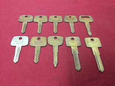 Subaru Honda Volvo By Curtis Automotive Key Blanks Set Of 10 - Locksmith