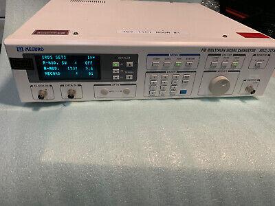 Meguro Keisoku Anritsu Msg-2174 Fm Multiplex Signal Generator Opt 002 Mod Rev105