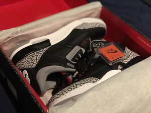Nike Air Jordan 3 Black Cement Size 9.5 BRAND NEW