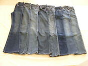 Girls Size 8 Slim Jeans Lot