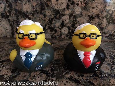Berkshire Hathaway Warren Buffett   Charlie Munger Rubber Duckies   Rubber Ducks