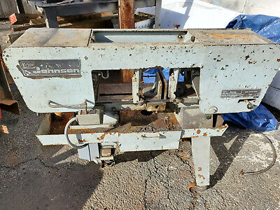 Kysor Johnson Hoizontal Band Saw