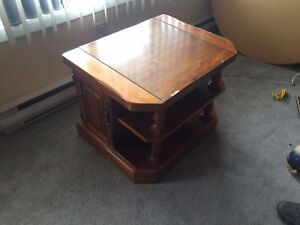 Stand 1 drawer each side