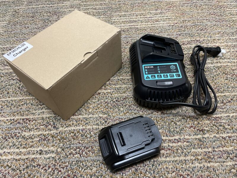 emist epix360 rechargeable battery & charger